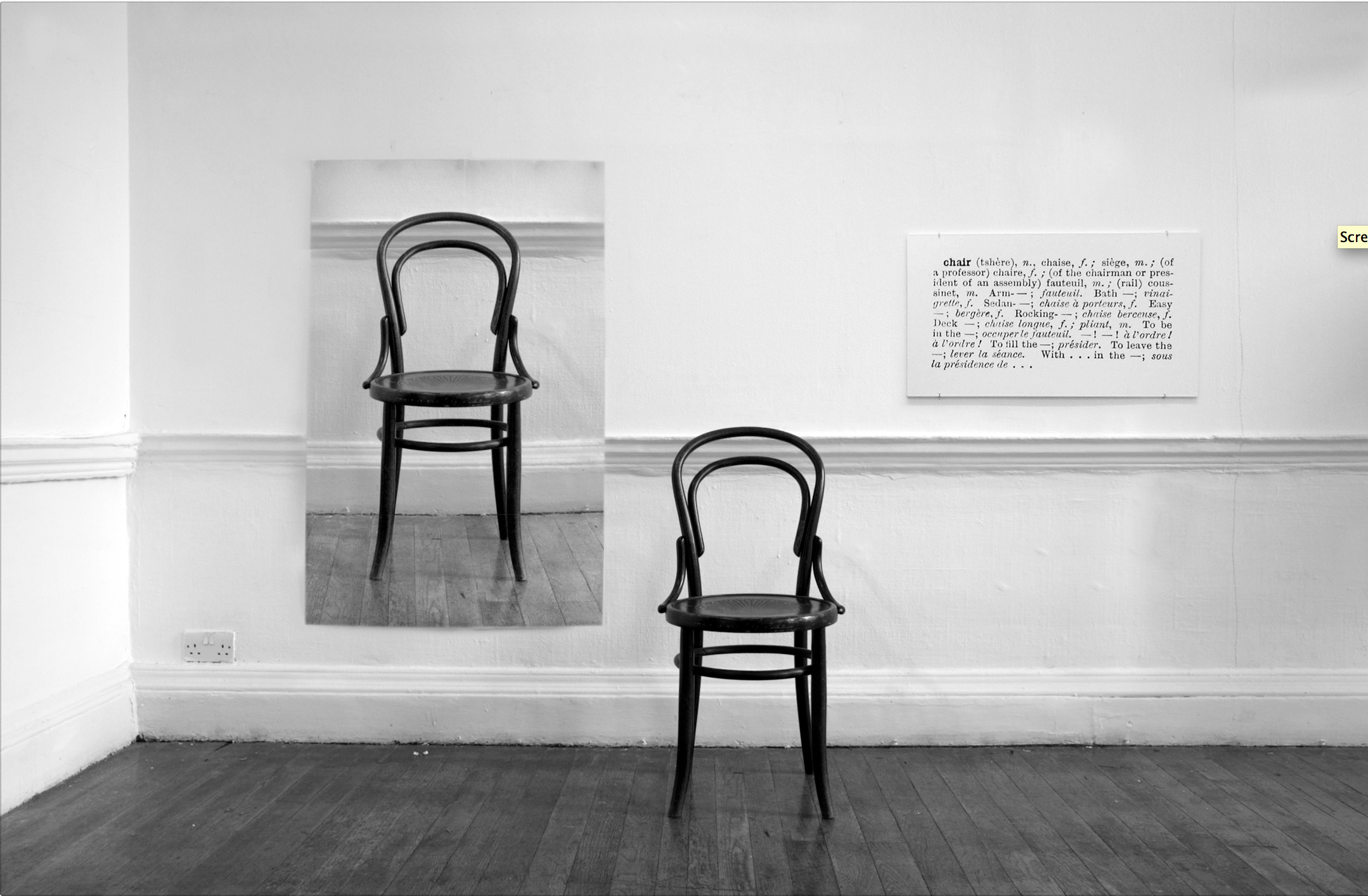 joseph kosuth on conceptual art One and three chairs joseph kosuth (american lawrence weiner, and other conceptual artists, kosuth approached art-making from a radical new perspective.