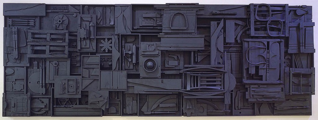 Sky Cathedral, Louise Nevelson (1982)