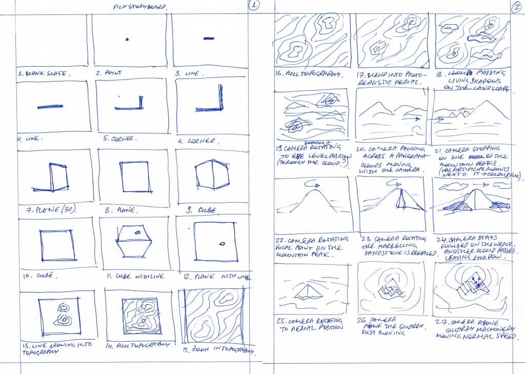 film storyboard 1