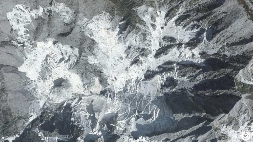 Quarries near Torano, Province of Massa and Carrara, Italy