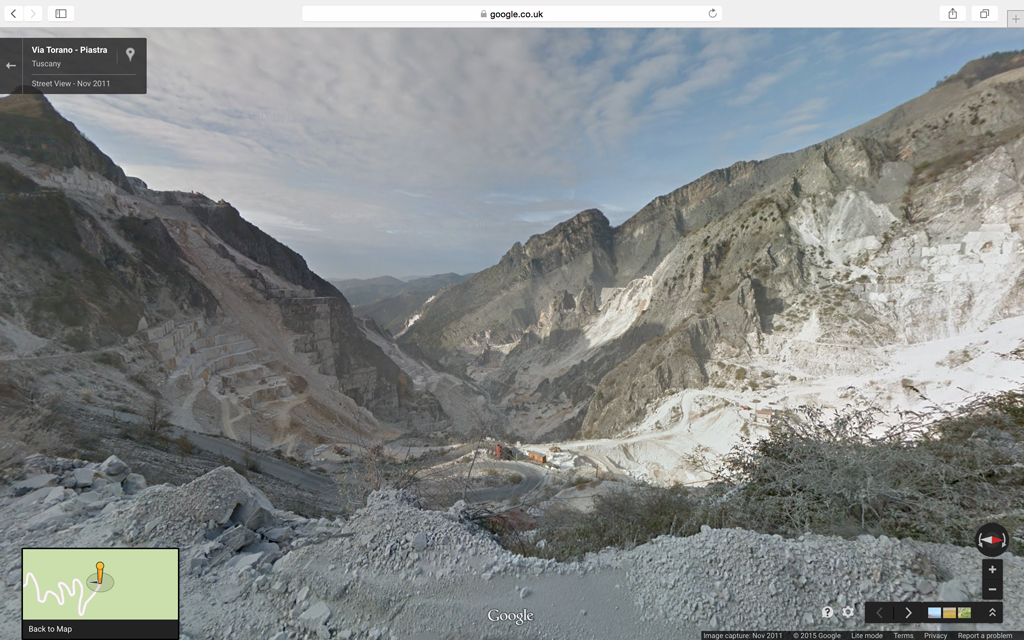 real site, google streetview