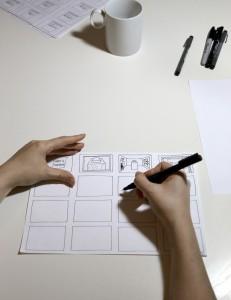 Anouk Storyboarding