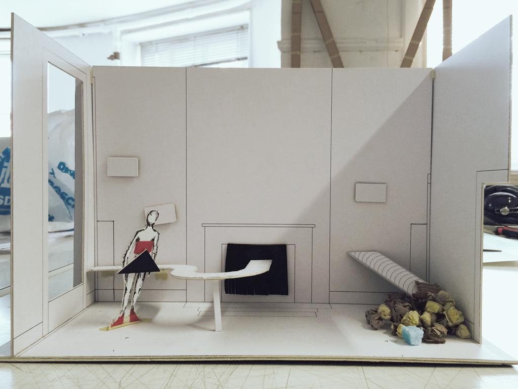 exhibition wip model