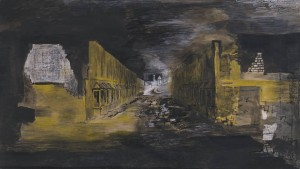 Devastation, 1941: An East End Street 1941 by Graham Sutherland OM 1903-1980