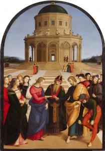 2.-Raffaello-Sanzio-Lo-Sposalizio-della-Vergine-BRERA1