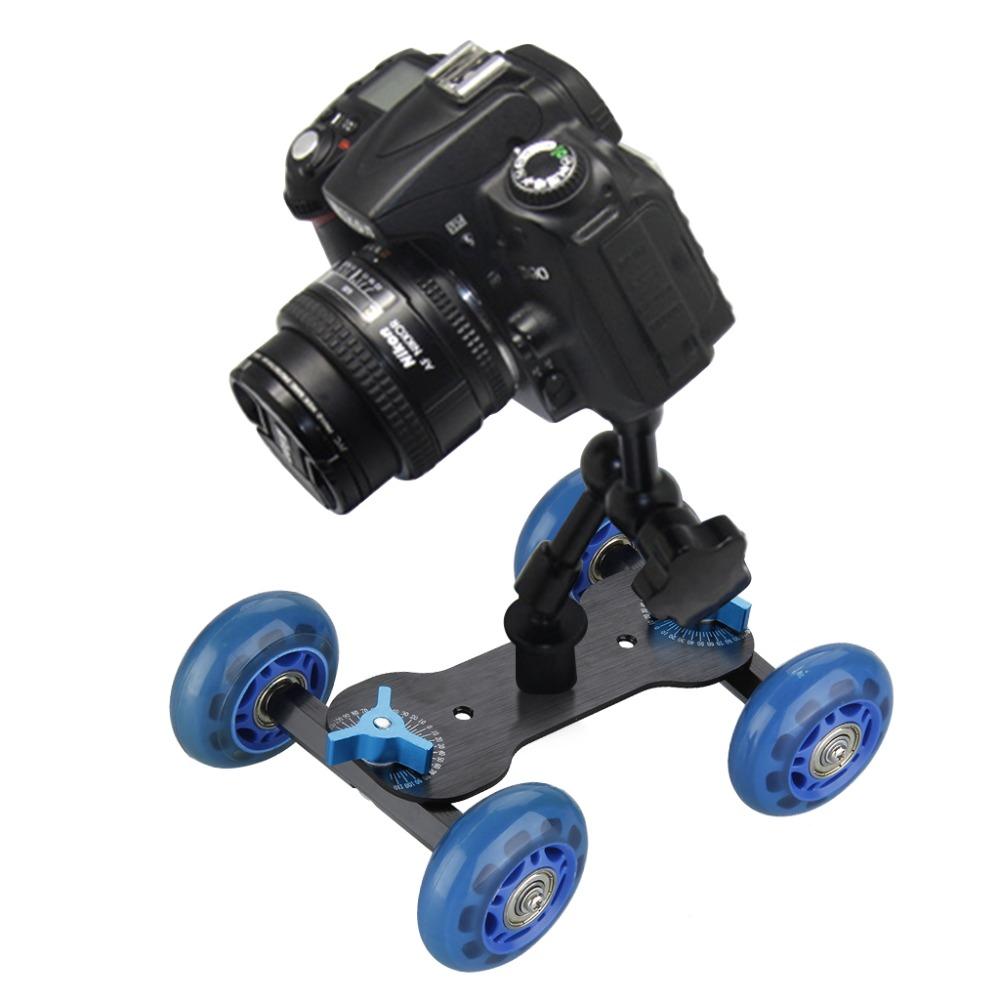 DSLR-font-b-Camera-b-font-Video-Mini-Car-Skater-for-Photograph-Rail-Rolling-font-b